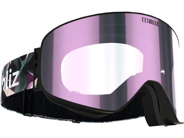 Bliz Flow Gafas, negro/rosa